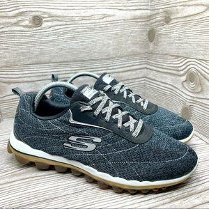 Skechers Skech-Air memory foam gray sneakers